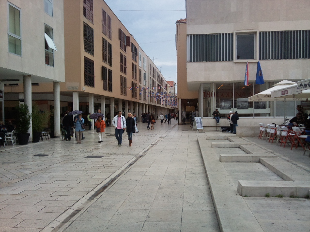 Downtown area